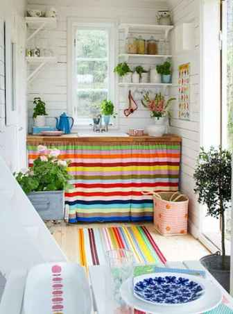 80+ Favorite Colorful Kitchen Decor Ideas And Remodel for Summer Project (15)