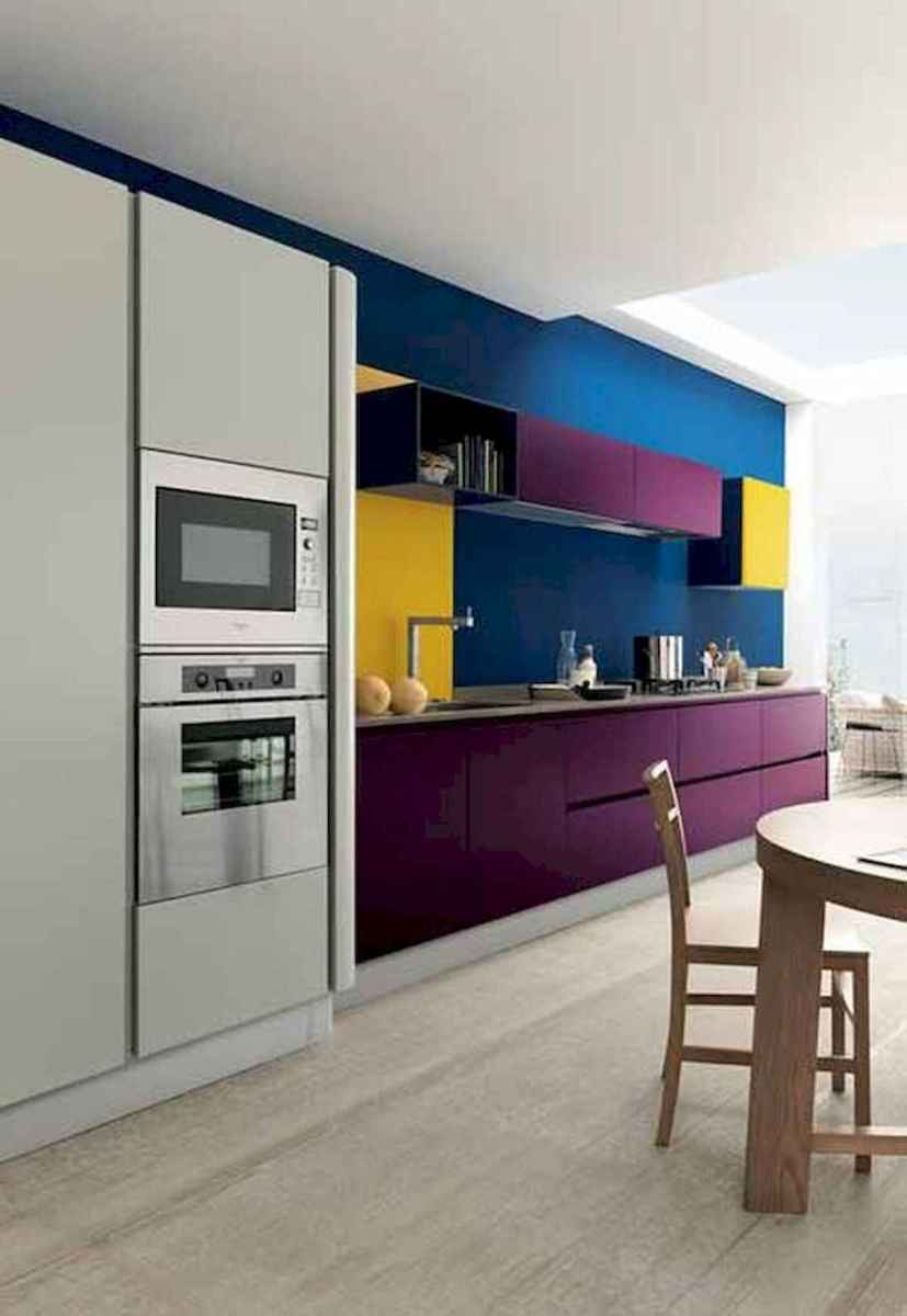 80+ Favorite Colorful Kitchen Decor Ideas And Remodel for Summer Project (24)