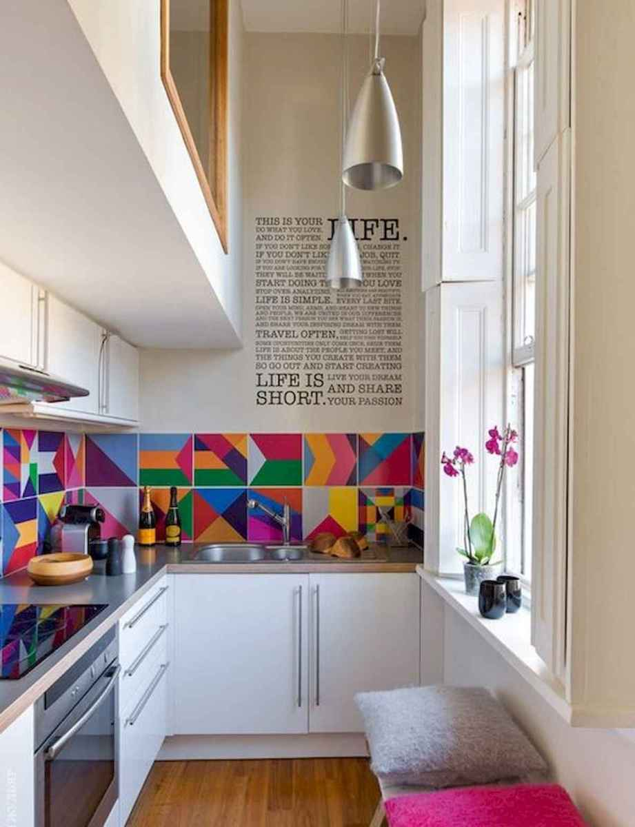 80+ Favorite Colorful Kitchen Decor Ideas And Remodel for Summer Project (29)