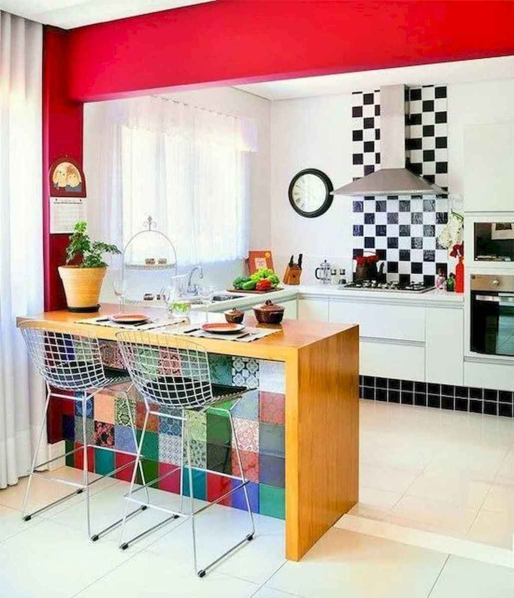 80+ Favorite Colorful Kitchen Decor Ideas And Remodel for Summer Project (30)