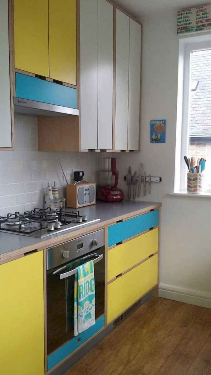 80+ Favorite Colorful Kitchen Decor Ideas And Remodel for Summer Project (32)