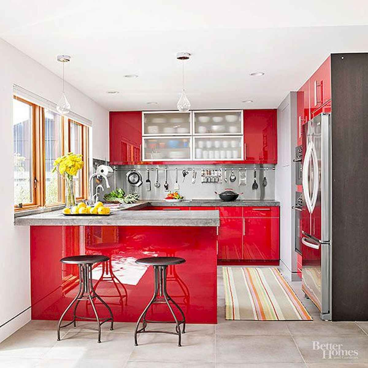 80+ Favorite Colorful Kitchen Decor Ideas And Remodel for Summer Project (38)