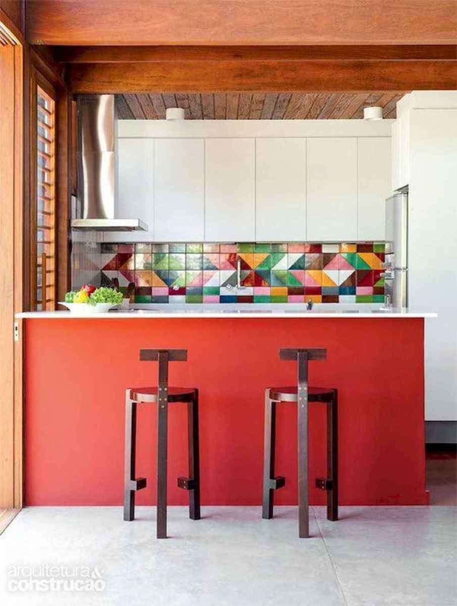 80+ Favorite Colorful Kitchen Decor Ideas And Remodel for Summer Project (42)