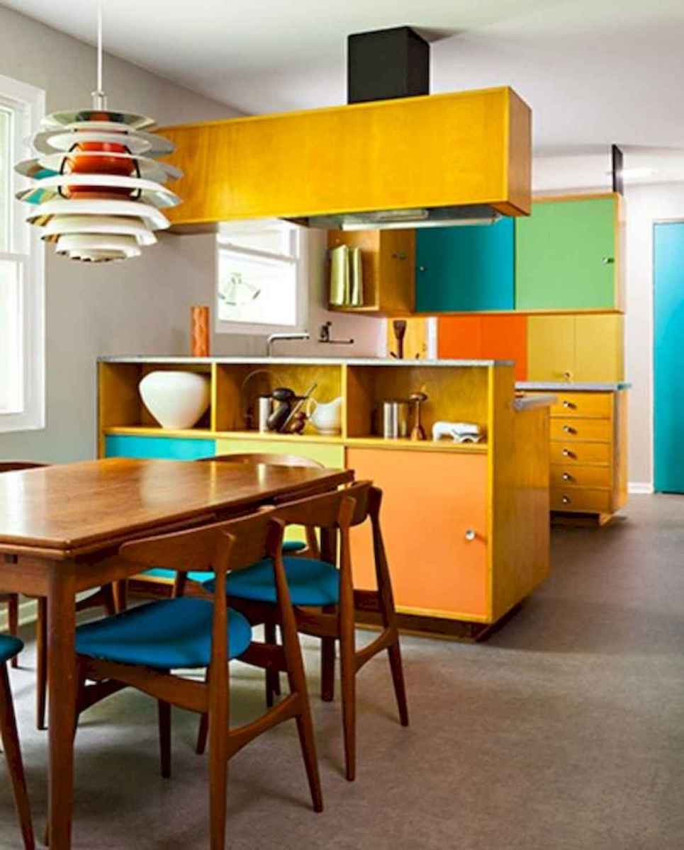 80+ Favorite Colorful Kitchen Decor Ideas And Remodel for Summer Project (52)