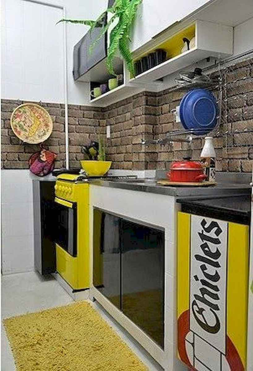 80+ Favorite Colorful Kitchen Decor Ideas And Remodel for Summer Project (59)