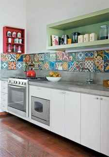 80+ Favorite Colorful Kitchen Decor Ideas And Remodel for Summer Project (66)