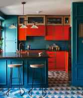 80+ Favorite Colorful Kitchen Decor Ideas And Remodel for Summer Project (72)