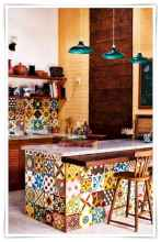 80+ Favorite Colorful Kitchen Decor Ideas And Remodel for Summer Project (77)
