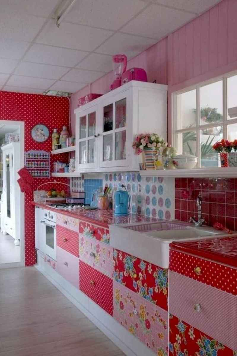 80+ Favorite Colorful Kitchen Decor Ideas And Remodel for Summer Project (8)