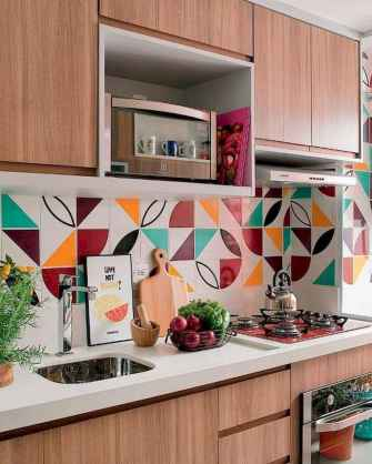 80+ Favorite Colorful Kitchen Decor Ideas And Remodel for Summer Project (86)