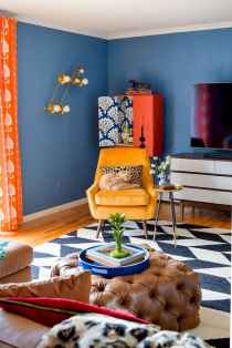 80+ Stunning Colorful Living Room Decor Ideas And Remodel for Summer Project (14)