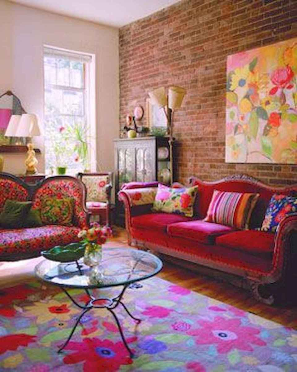 80+ Stunning Colorful Living Room Decor Ideas And Remodel for Summer Project (18)