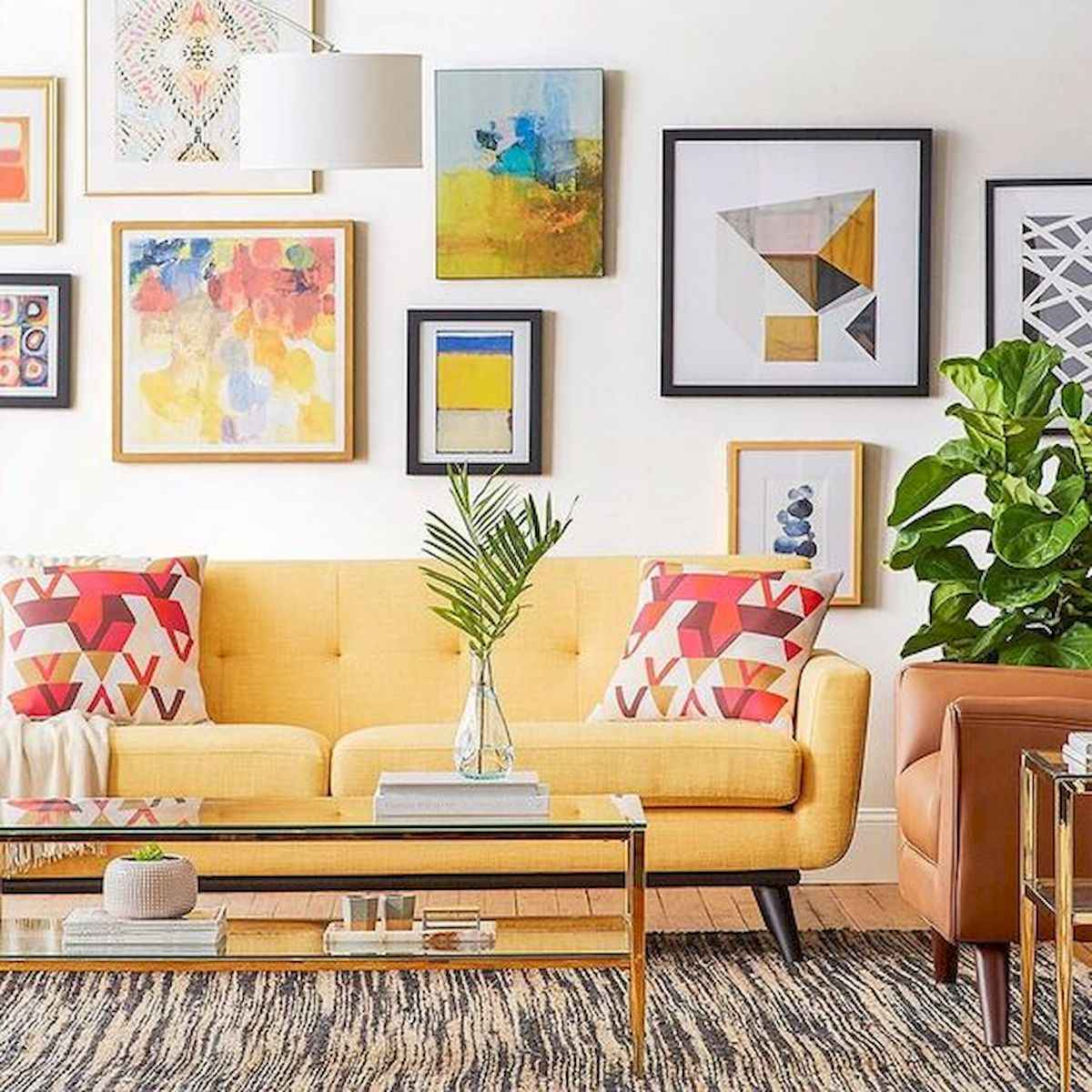 80+ Stunning Colorful Living Room Decor Ideas And Remodel for Summer Project (2)