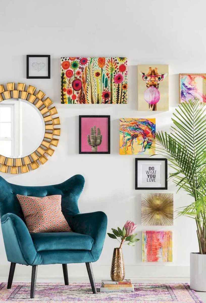 80+ Stunning Colorful Living Room Decor Ideas And Remodel for Summer Project (38)