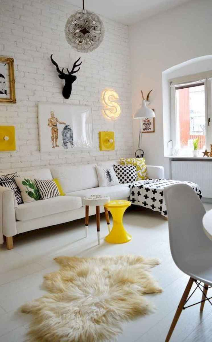 80+ Stunning Colorful Living Room Decor Ideas And Remodel for Summer Project (50)