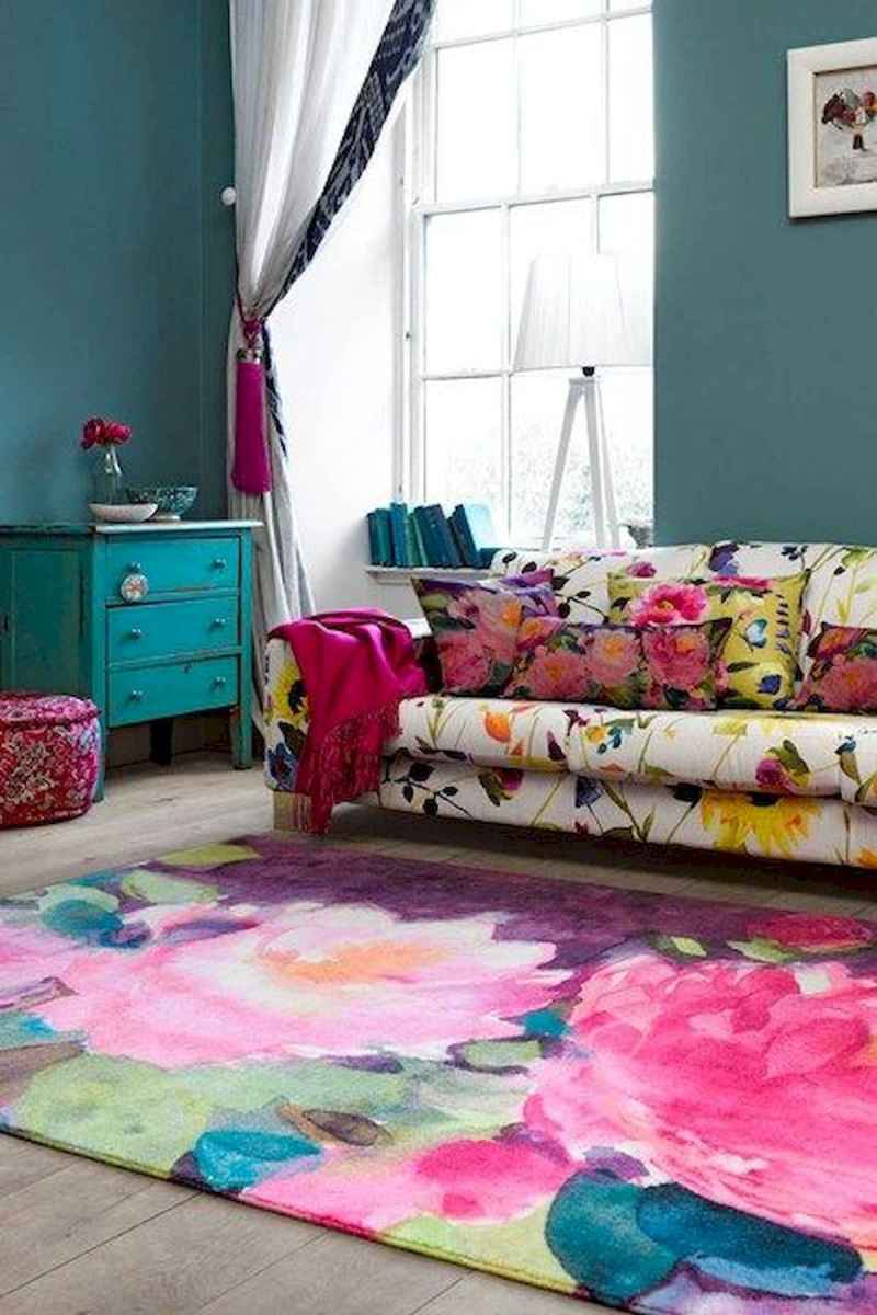 80+ Stunning Colorful Living Room Decor Ideas And Remodel for Summer Project (59)