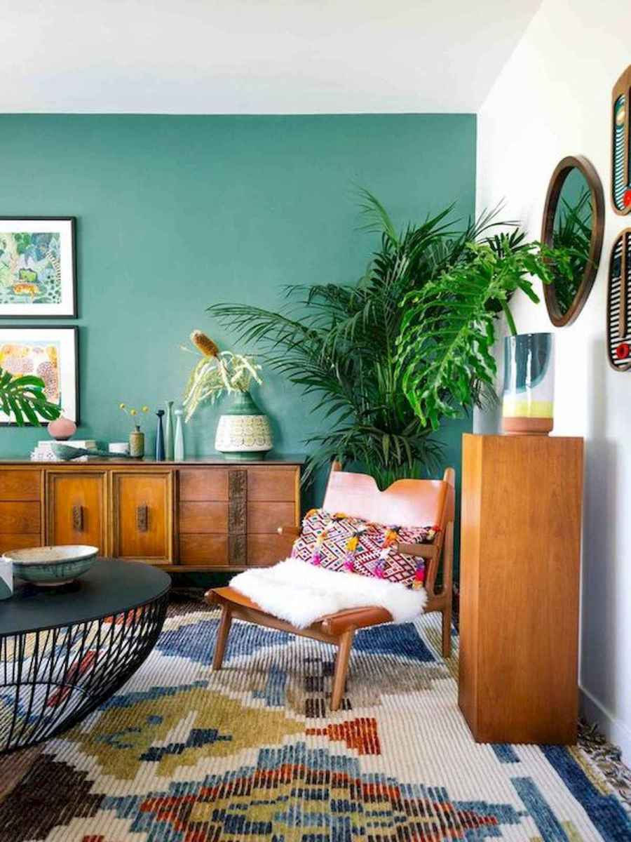 80+ Stunning Colorful Living Room Decor Ideas And Remodel for Summer Project (62)