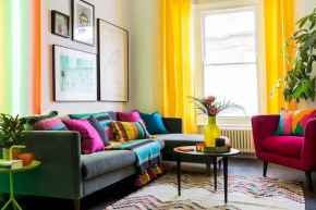 80+ Stunning Colorful Living Room Decor Ideas And Remodel for Summer Project (65)