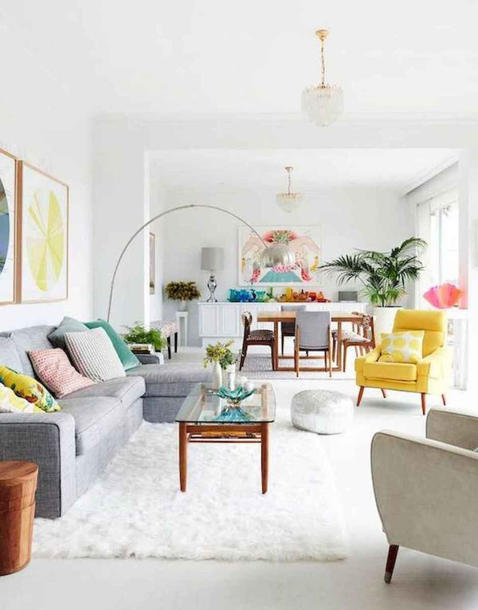 80+ Stunning Colorful Living Room Decor Ideas And Remodel for Summer Project (70)
