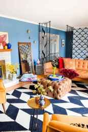 80+ Stunning Colorful Living Room Decor Ideas And Remodel for Summer Project (71)