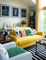 80+ Stunning Colorful Living Room Decor Ideas And Remodel for Summer Project (76)