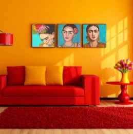 90+ Creative Colorful Apartment Decor Ideas And Remodel for Summer Project (14)