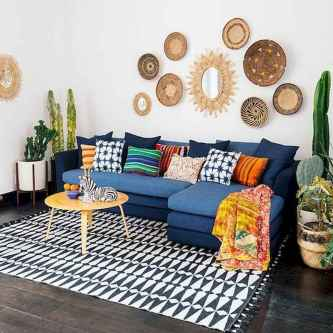 90+ Creative Colorful Apartment Decor Ideas And Remodel for Summer Project (15)