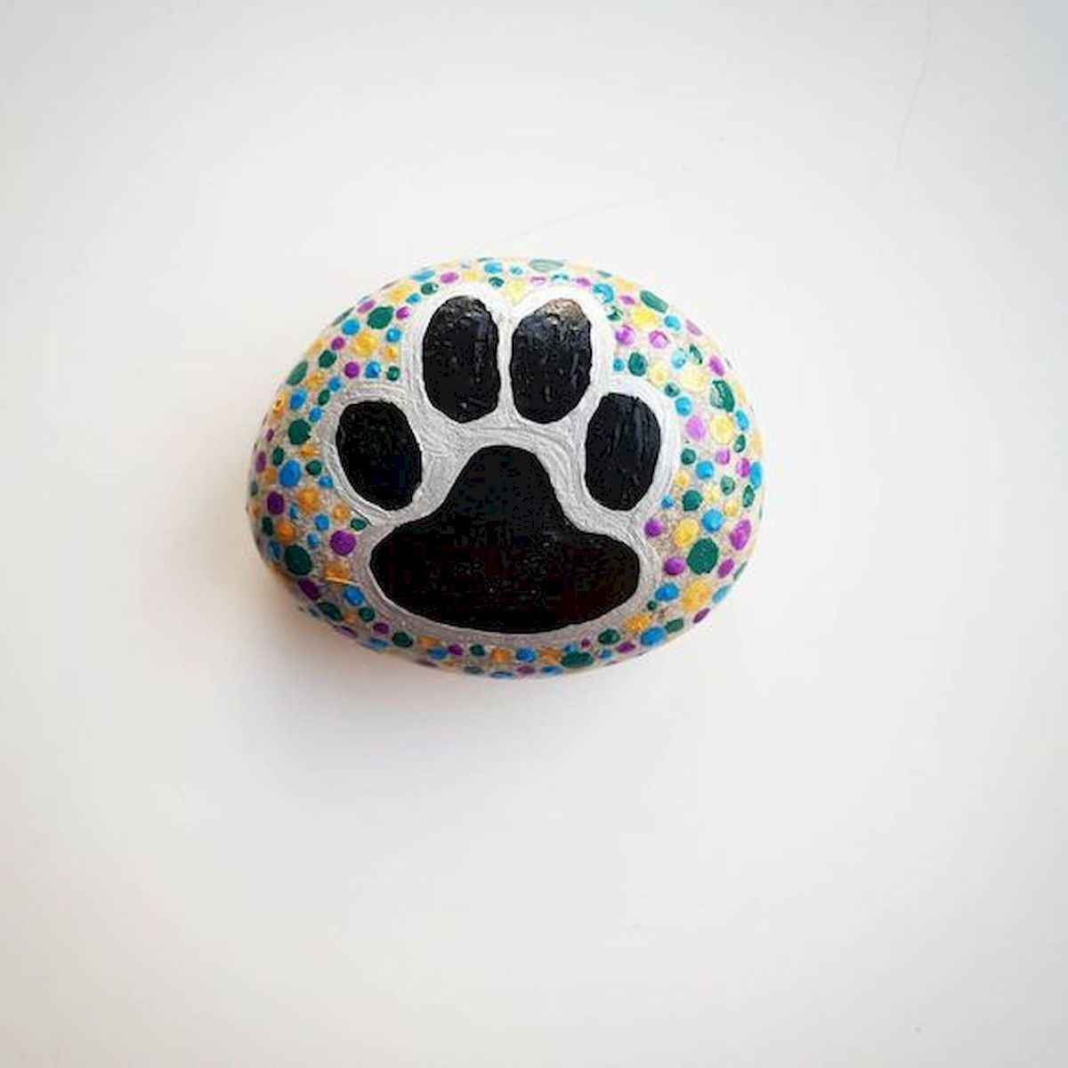 40 Awesome DIY Projects Painted Rocks Animals Dogs for Summer Ideas (27)