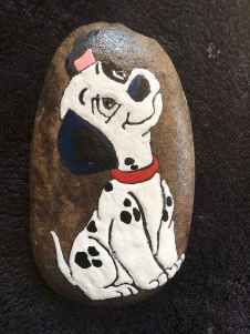 40 Awesome DIY Projects Painted Rocks Animals Dogs for Summer Ideas (6)