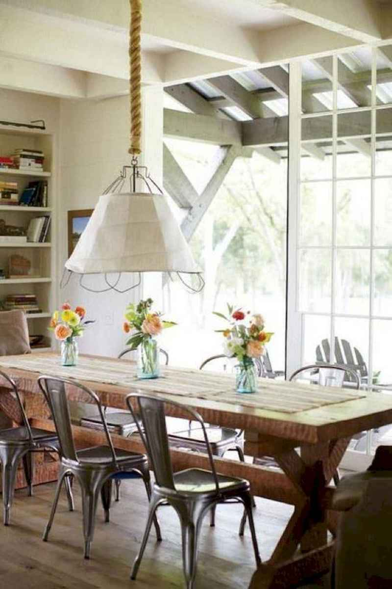 55 Stunning DIY Projects Furniture Tables Dining Rooms Design Ideas (12)