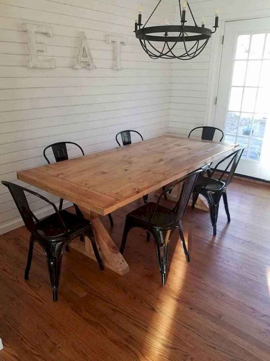 55 Stunning DIY Projects Furniture Tables Dining Rooms Design Ideas (16)