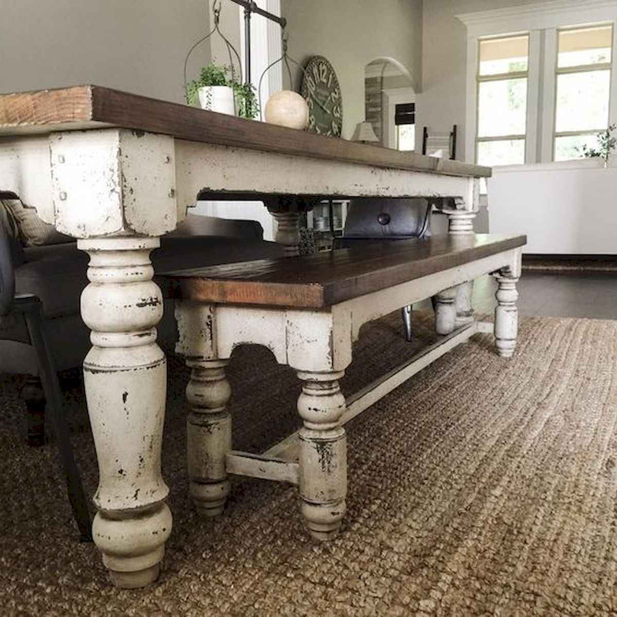 55 Stunning DIY Projects Furniture Tables Dining Rooms Design Ideas (21)