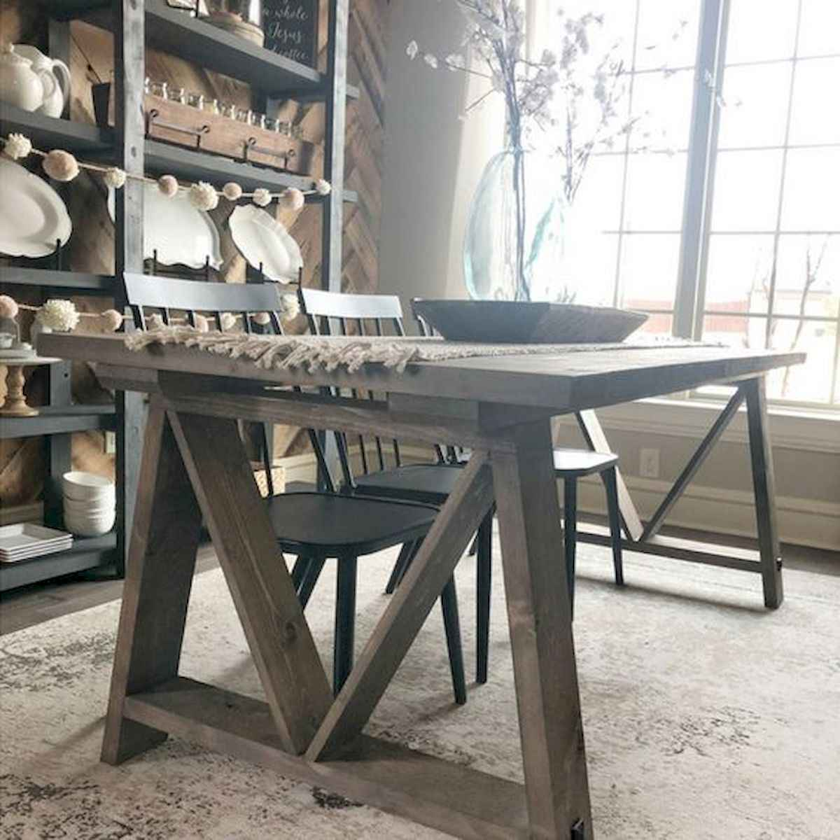 55 Stunning DIY Projects Furniture Tables Dining Rooms Design Ideas (23)
