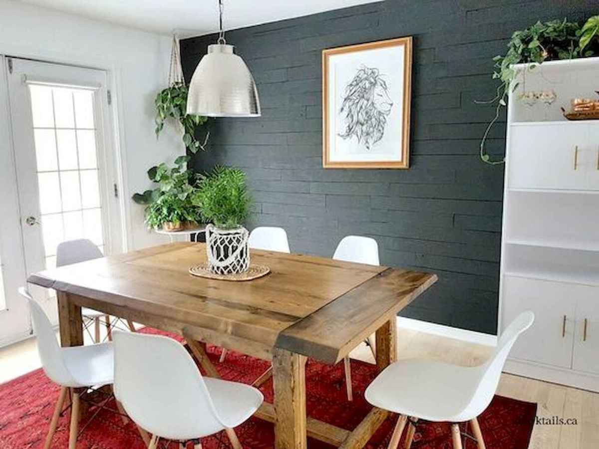 55 Stunning DIY Projects Furniture Tables Dining Rooms Design Ideas (47)