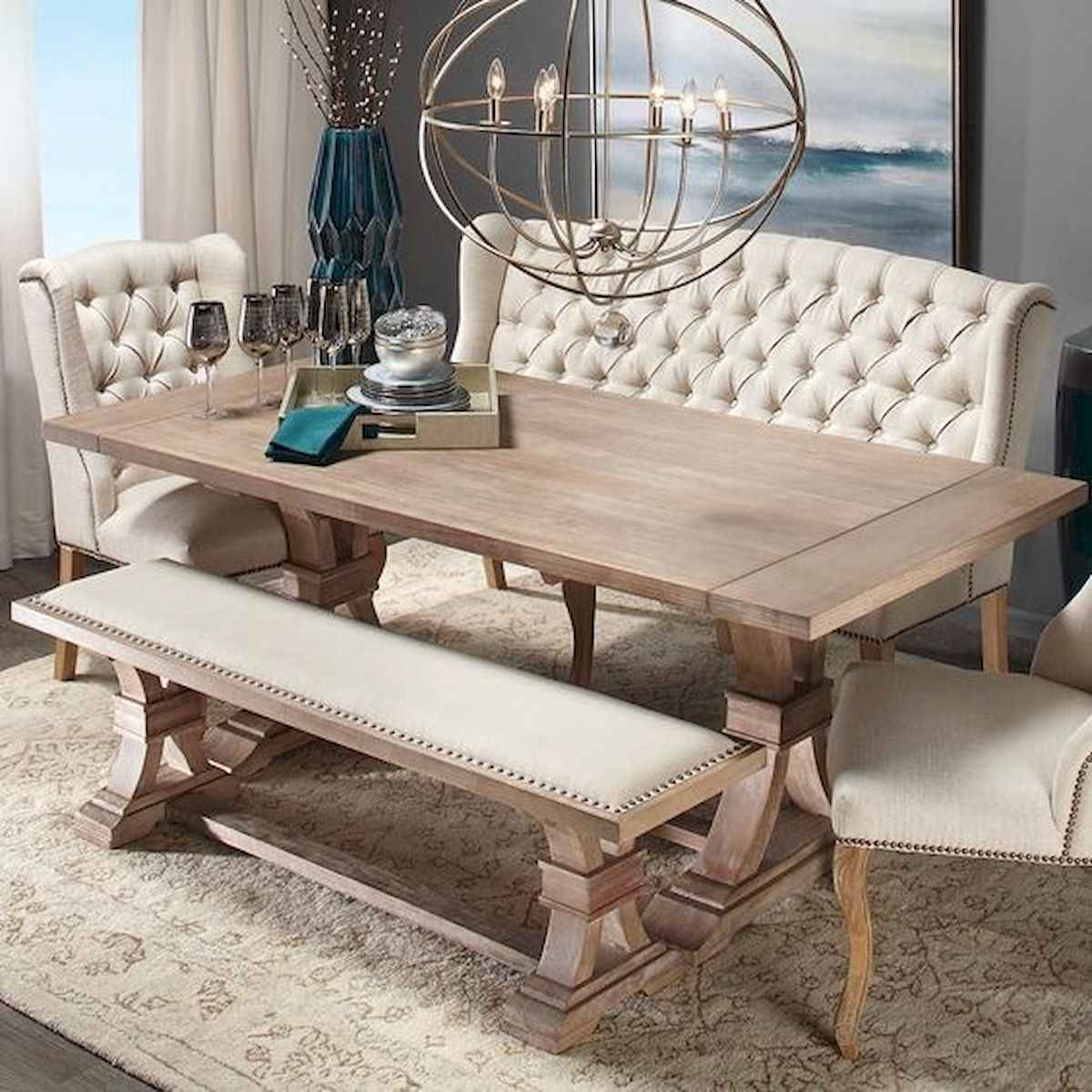 55 Stunning DIY Projects Furniture Tables Dining Rooms Design Ideas (52)
