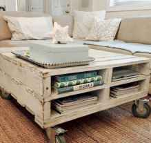 60 Creative DIY Projects Furniture Living Room Table Design Ideas (32)