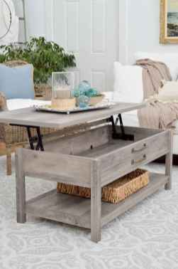 60 Creative DIY Projects Furniture Living Room Table Design Ideas (6)