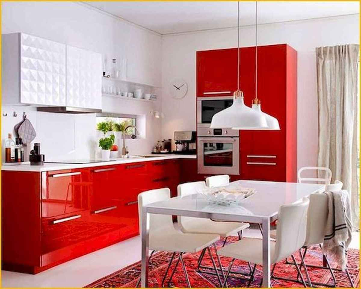 60 Lovely Painted Kitchen Cabinets Two Tone Design Ideas (21)