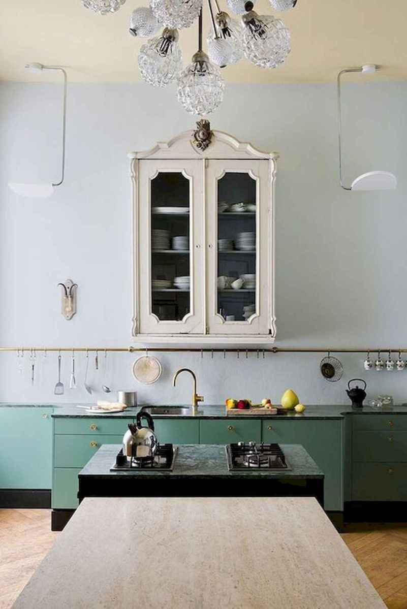 60 Lovely Painted Kitchen Cabinets Two Tone Design Ideas (39)