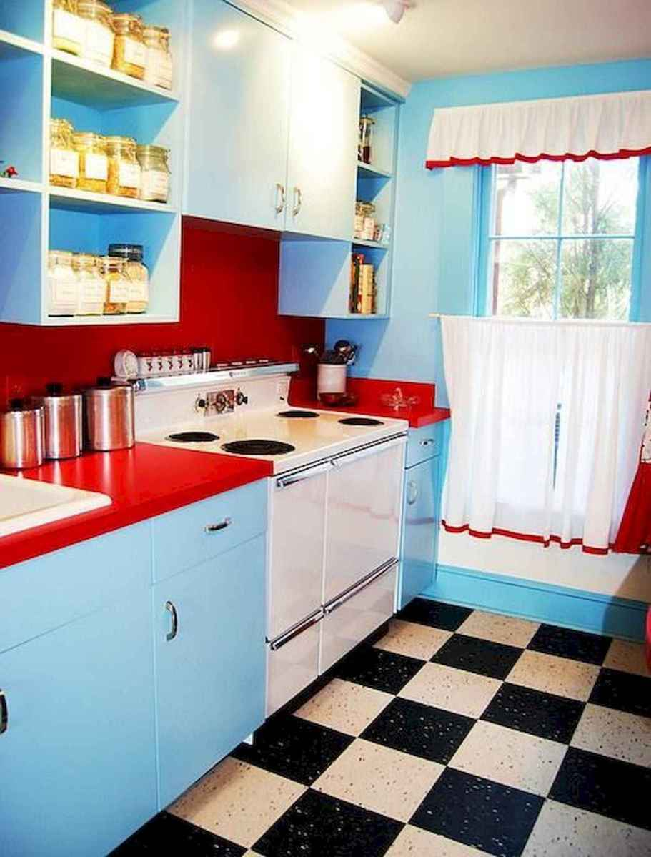 60 Lovely Painted Kitchen Cabinets Two Tone Design Ideas (46)