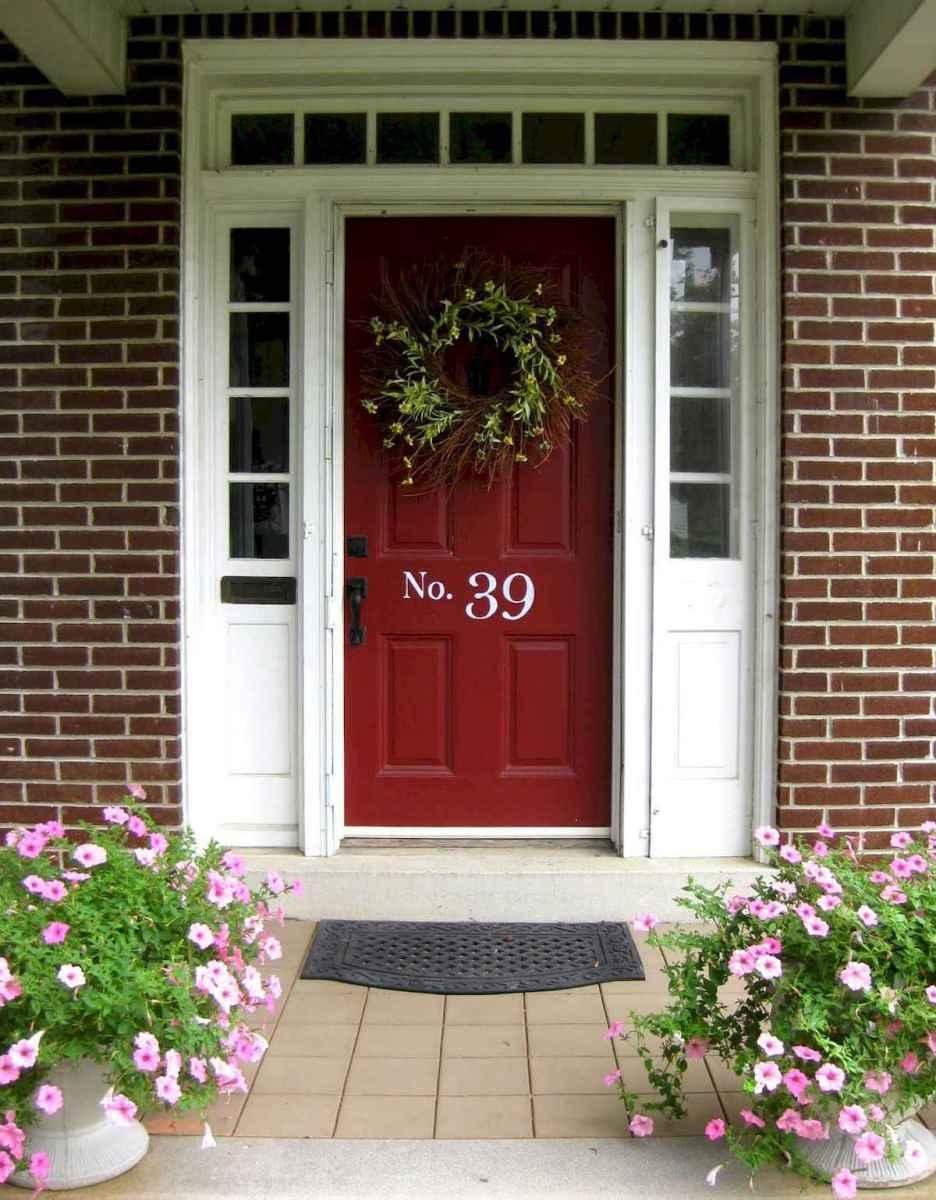 100 Unique Front Doors Colors Design Ideas (46)