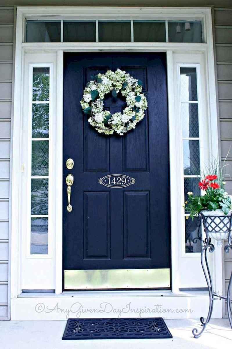 100 Unique Front Doors Colors Design Ideas (57)