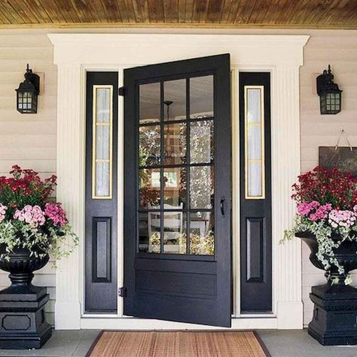 100 Unique Front Doors Colors Design Ideas (58)