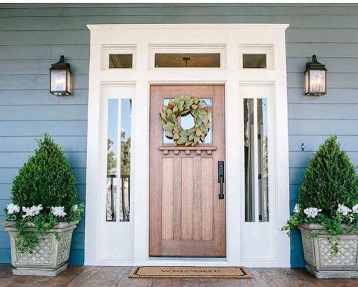 100 Unique Front Doors Colors Design Ideas (60)