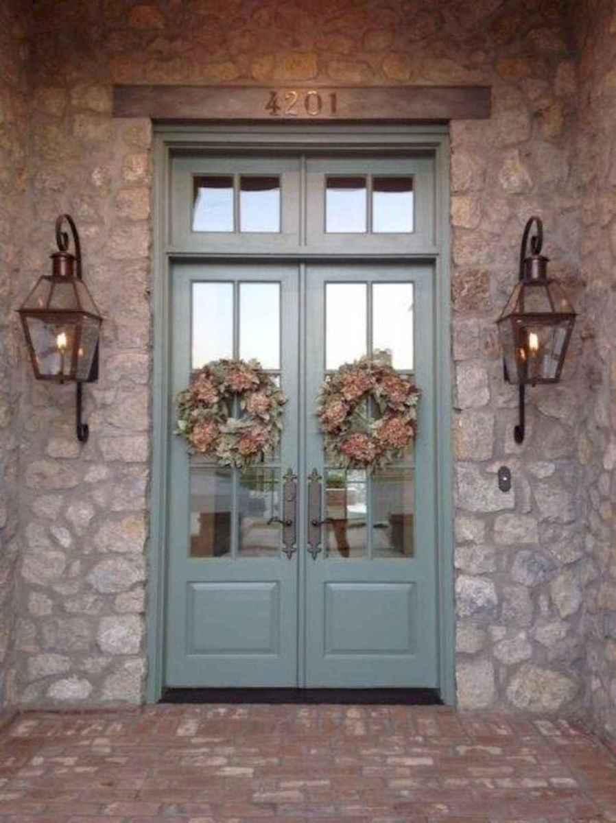100 Unique Front Doors Colors Design Ideas (66)