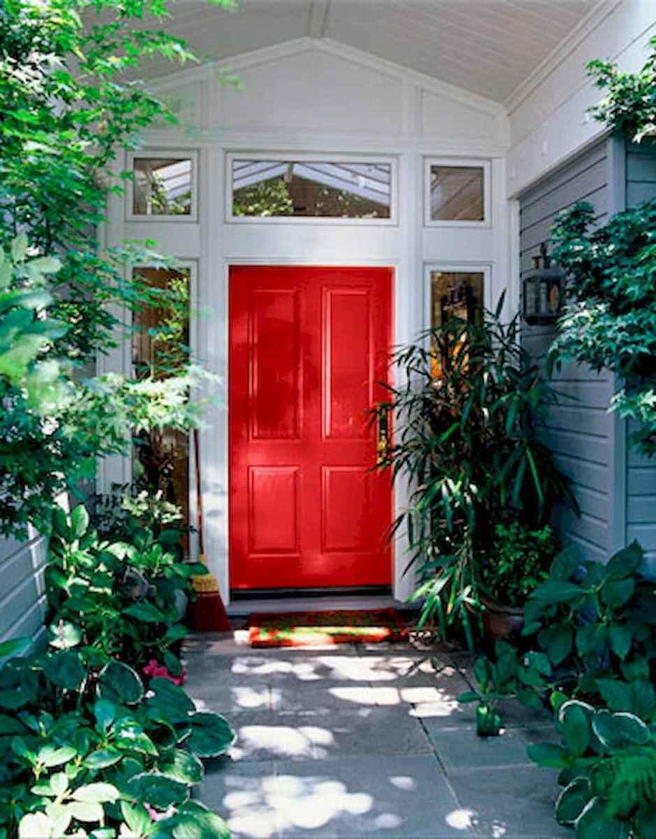 100 Unique Front Doors Colors Design Ideas (74)