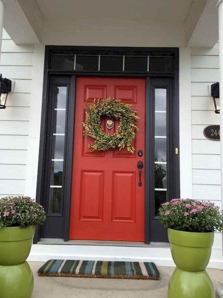 100 Unique Front Doors Colors Design Ideas (82)