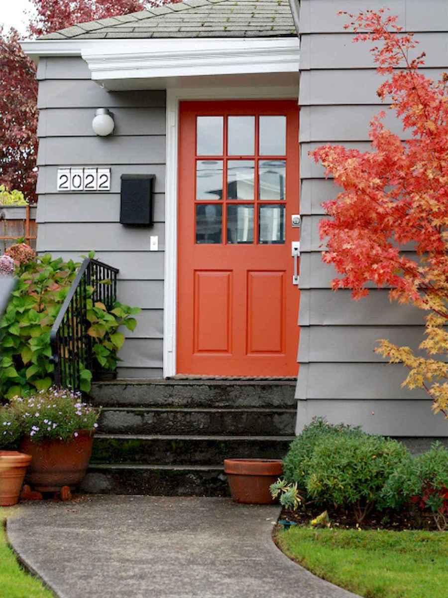 100 Unique Front Doors Colors Design Ideas (85)