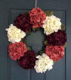 60 Beautiful Front Door Summer Wreath Decor Ideas (44)