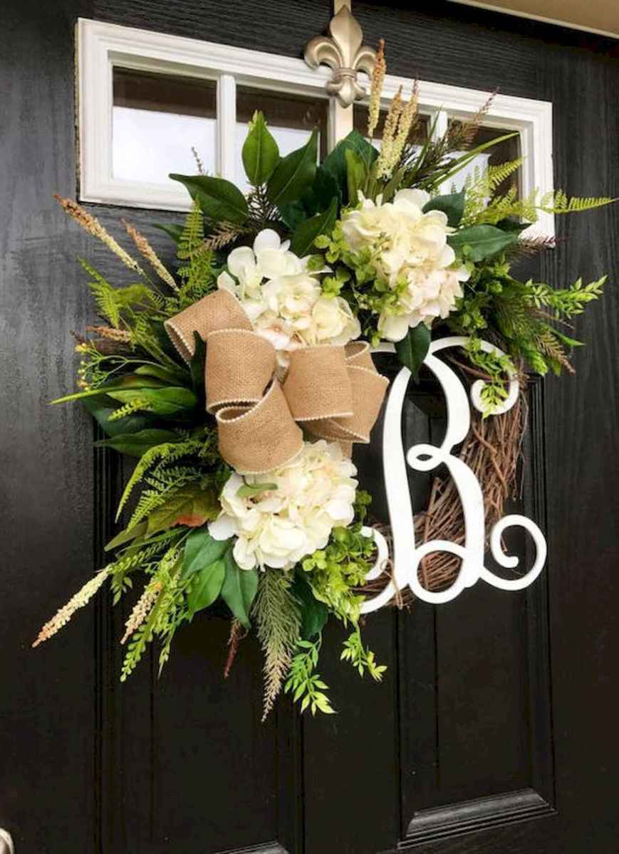 60 Lovely Summer Wreath Design Ideas and Remodel (10)